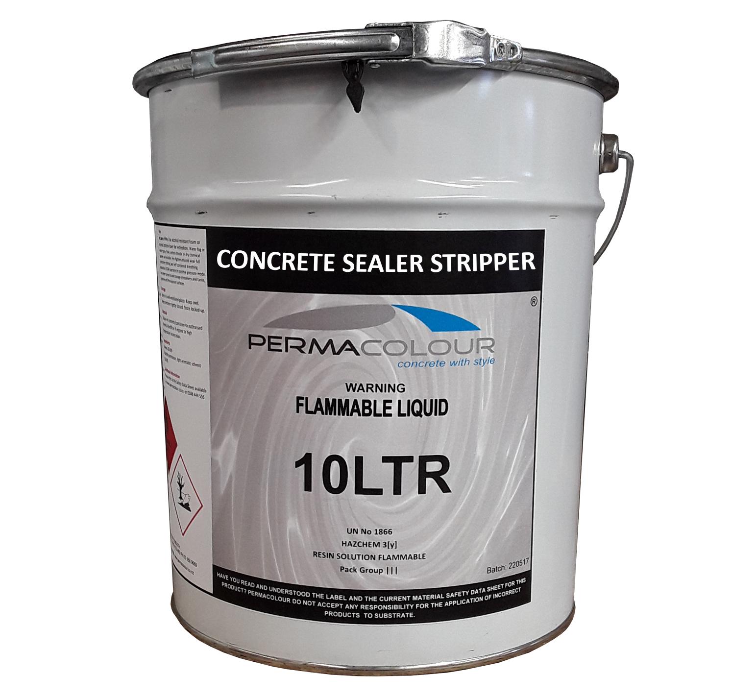 Concrete Sealer Stripper 20lt Permacolour
