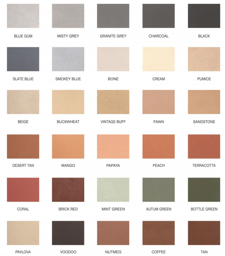 Permacolour Colour Harderner Range