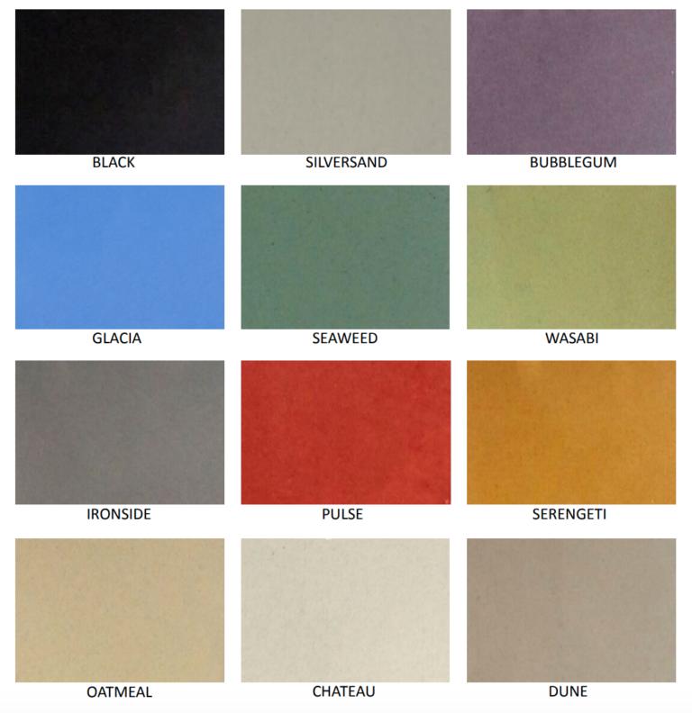 Permacolour Decrocete colour range
